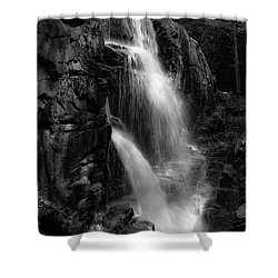 Franconia Notch Waterfall Shower Curtain