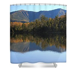 Franconia Ridge From Lonesome Lake Shower Curtain