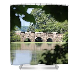 Frank Melville Memorial Park Setauket New York Shower Curtain by Bob Savage