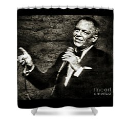 Frank Sinatra -  Shower Curtain