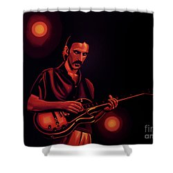 Frank Zappa 2 Shower Curtain by Paul Meijering