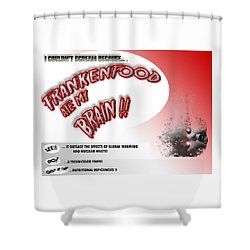 Shower Curtain featuring the photograph Frankenfood by Christopher Woods