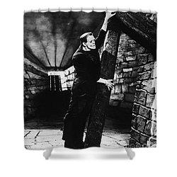 Frankenstein Boris Karloff Classic Film Image  Shower Curtain