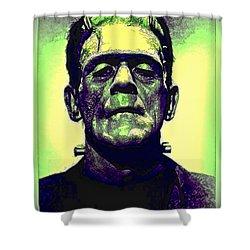 Frankenstein In Color Shower Curtain