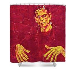 Frankenstein's Monster 1931 Shower Curtain