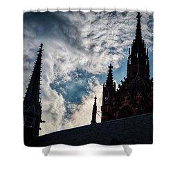 Frankfurt Cathedral Shower Curtain