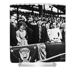 Franklin D. Roosevelt Shower Curtain by Granger