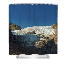 Shower Curtain featuring the photograph Franz Josef Glacier by Gary Eason