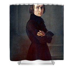 Franz Liszt (1811-1886) Shower Curtain by Granger