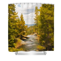 Frazier Creek Shower Curtain