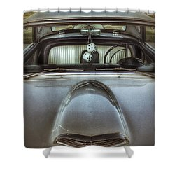 Fred Tthunderbird Front 1 Shower Curtain