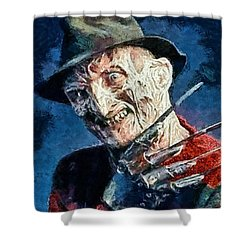 Freddy Kruegar Shower Curtain