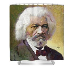 Frederick Douglass Shower Curtain