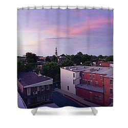 Twi Lights Shower Curtain by Jan W Faul