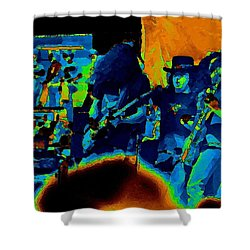 Free Bird Pastel Oakland 1 Shower Curtain