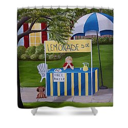 Free Cookies Shower Curtain