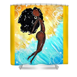 Free Shower Curtain by Diamin Nicole