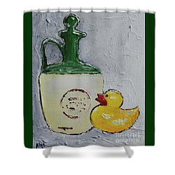 Free Duck Shower Curtain
