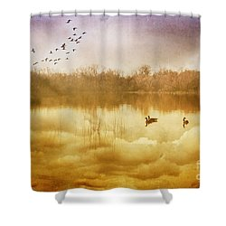 Free Spirits Shower Curtain