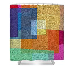 Free Squares - Part Two Shower Curtain