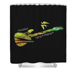 Freebird Lynyrd Skynyrd Ronnie Van Zant Shower Curtain