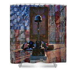 Freedom Ain't Free Shower Curtain