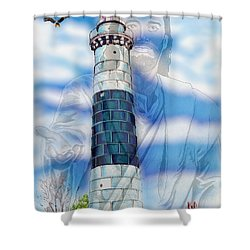 Freedom Shower Curtain by Bill Richards