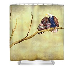 Shower Curtain featuring the photograph Freedom by James BO Insogna