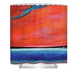 Freedom Journey Shower Curtain by Toni Grote