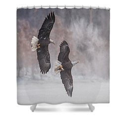 Shower Curtain featuring the photograph Freedom by Kelly Marquardt