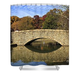 Freedom Park Bridge Shower Curtain