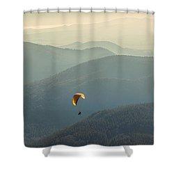 Freedom Shower Curtain by Radu Razvan
