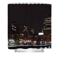 Freedom Skyline Shower Curtain