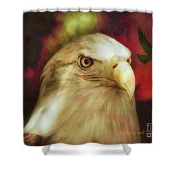 Freedom To Fly Shower Curtain