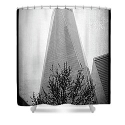 Shower Curtain featuring the photograph Freedom Tower 2 by Paul Cammarata