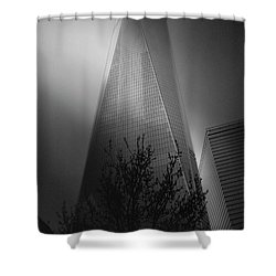 Shower Curtain featuring the photograph Freedom Tower by Paul Cammarata