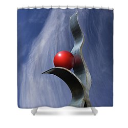 Freeform Isolation Shower Curtain