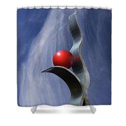 Freeform Isolation Shower Curtain
