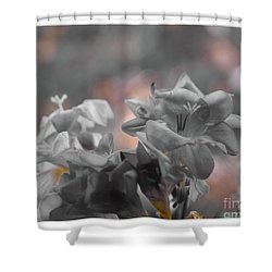 Freesia'a Without Colour Shower Curtain