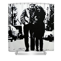 Freewheelin Shower Curtain
