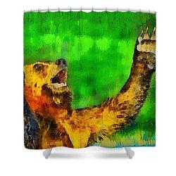 Freeze - Pa Shower Curtain