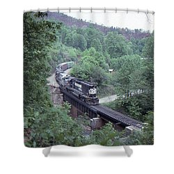 Freight At Mill Creek Shower Curtain