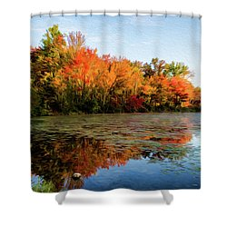 French Creek 15-025 Shower Curtain by Scott McAllister