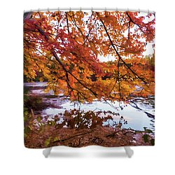 French Creek 15-107 Shower Curtain by Scott McAllister