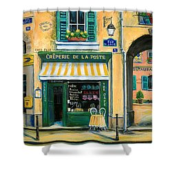 French Creperie Shower Curtain