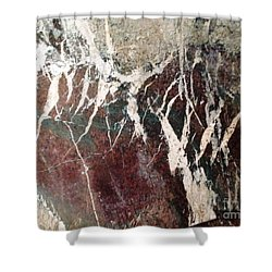 French Marble Shower Curtain by Therese Alcorn