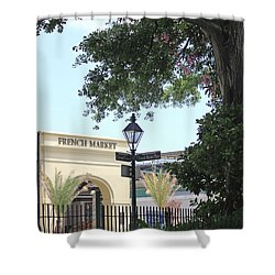 French Market Shower Curtain by Todd A Blanchard