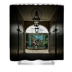 French Market's Michelle Shower Curtain