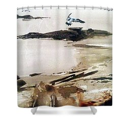 French Lake Shower Curtain