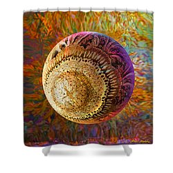 Shower Curtain featuring the painting French Ornamental  by Robin Moline